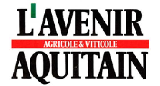 """Résultat de recherche d'images pour """"l'avenir agricole et viticole aquitain"""""""